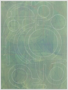 ANDREW LYGHT White Line Drawing A-1, 2020