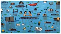 JAY STUCKEY Flood, 2020