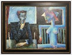 ALEXANDER KALETSKI Artist Dinner, 1989