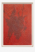 ANDREW LYGHT White Line Drawing TK-2, 2020 Expo Chicago 2021 Anna Zorina Gallery