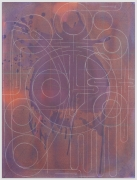 ANDREW LYGHT White Line Drawing B-7, 2020