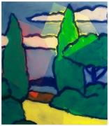 PATRICK SHOEMAKER Landscape, 2018