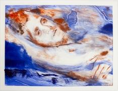 DORON LANGBERG Resting (Self-Portrait) II, 2019