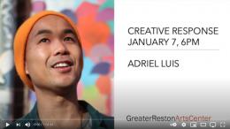 Creative Response: Adriel Luis
