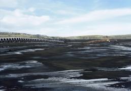 Victoria Sambunaris (American, b. 1964), Untitled (coal mine), Gillette, WY, 2007