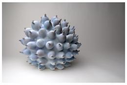 EVA ZETHRAEUS (Swedish, b.1971), Blue Heliopora, 2018