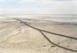 Victoria Sambunaris (American, b. 1964), Untitled (potash mine, distant view), Wendover, UT, 2004