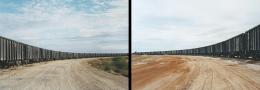 Victoria Sambunaris (American, b. 1964), Untitled (rail yard) and Untitled (rail car unloading), Near Cotulla, TX, 2012