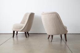 Swedish Pair of Chairs