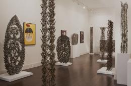 "Installation view, Richard Filipowski, ""Beyond the Bauhaus"", Hostler Burrows, 2013"