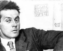 Photograph of Egon Schiele