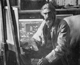 Photograph of Joaquín Torres-García