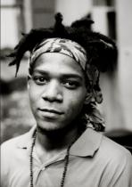 Photograph of Jean-Michel Basquiat