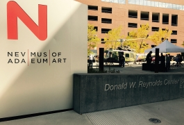 Exhibition at Nevada Museum of Art, Reno NV