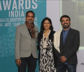 Abir Karmakar Wins First Asia Arts Future Award In India