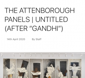 "The Attenborough Panels | Untitled (After ""Gandhi"")"