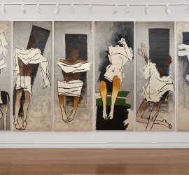 M. F. Husain | The Attenborough Panels
