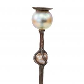 Favrile Ball Candlestick