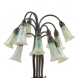Twelve Light Lily Lamp
