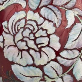 Stylized Floral Vase