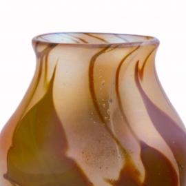 Autumn Leaf Paperweight Vase