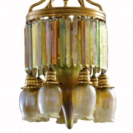 Moorish Prism Chandelier