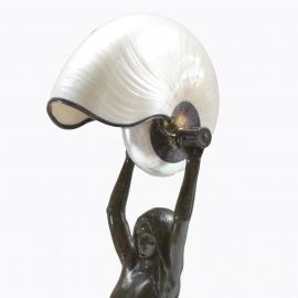 Gudebrod Nautilus Desk Lamp