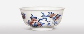 Chinese Underglaze Blue and Red Porcelain Bowl