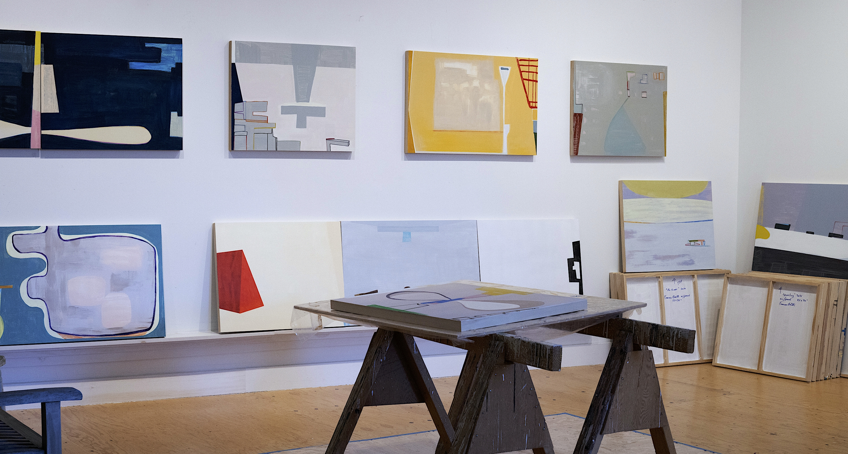 Frances Barth: In the studio of Frances Barth