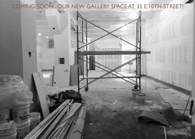 New gallery space opening soon