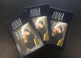 Anna Bjerger book launch, Wednesday May 24 from 17-20