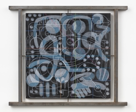 Andrew Lyght Industrial Painting/Sheathing 0516JC, 1993-1994