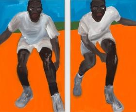 Alvin Armstrong I Got Next, 2021 Anna Zorina Gallery