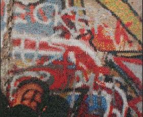 Bradley Hart Berlin Wall (Injection), 2014