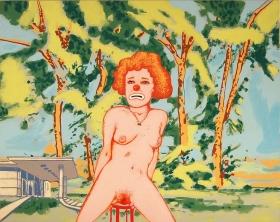 David Humphrey Clown Girl