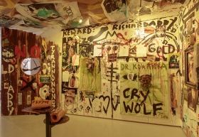 Jonathan Meese, Fort d'EVOLUTIONSKNOXOZ de ZARDOZEDADADDY 2 (ERZ JOHNNY WAYNE IS DADDY COOLISMEESE)