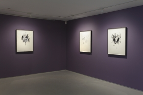 Wardell Milan: This Charming Hour, David Nolan Gallery, New York, 2015, installation view