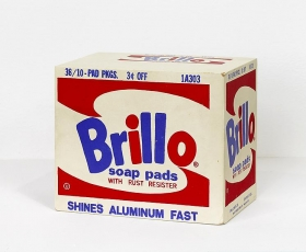 "Richard Pettibone Andy Warhol ""Brillo Box, 1964."" [White/Ed. Of 5]"