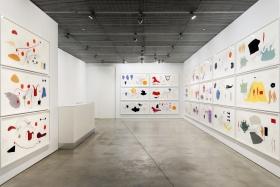 Installation Image:, Jorinde Voigt: Words and Views
