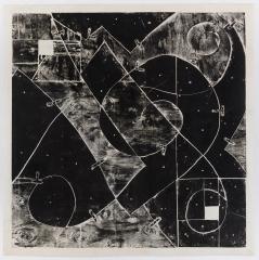 Mel Kendrick, White Squares (with Mending Plates)