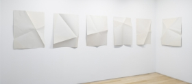 Locus, 1972 series of six relief etching and aquatints on folded paper