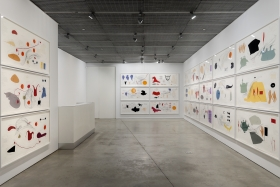 Jorinde Voigt, David Nolan Gallery, New York, 2012