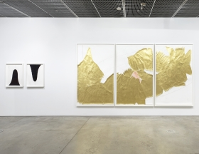 Jorinde Voigt: Considerations in the Now, David Nolan Gallery, New York, 2016, installation view