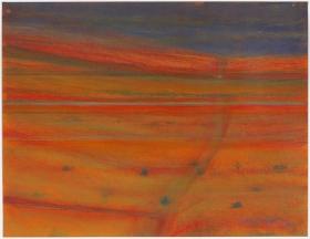 Richard Artschwager Landscape with Dry Creek Bed