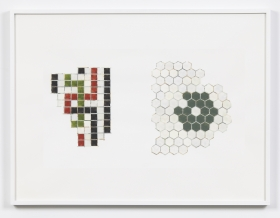 Study - Fragments from Entry and Floret,1999