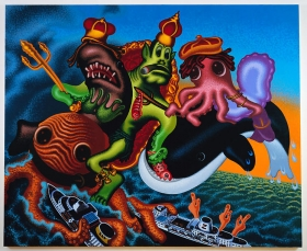 Peter Saul The Neptunes