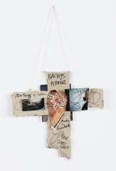 Jonathan Meese, Untitled (BALTHYS KREUZ)