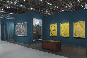 Jorinde Voigt, The Armory Show, New York, 2019, installation view