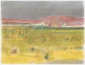 Richard Artschwager Landscape with Pink Mountain