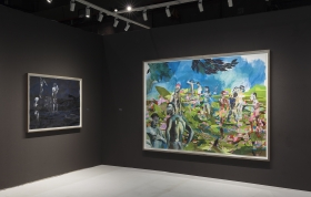 ADAA The Art Show, New York, 2018, installation view
